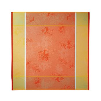 Calypso Corail Tablecloths & Napkins by Yves Delorme