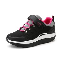 Plus Size 35-44 Women Breathable Slim Wedges Sneakers Shoes Women Platform Walking Shoes for Mother