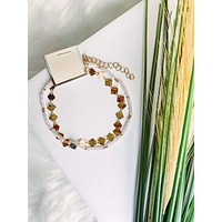 Gold Layered Ankle Bracelet
