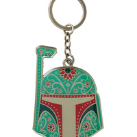 Loungefly Star Wars Day Of The Dead Boba Fett Key Chain