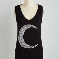Cosmic Mid-length Sleeveless By All Moons Top