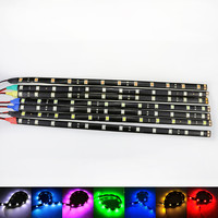 1 x SMD LED 5050 Flexible Waterproof Lights High Power Car Auto Decor Flexible LED Strips Lamps high bright Car LED strip CD