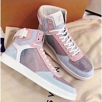LV Louis Vuitton Letter recreational sneakers