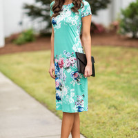 Meet You For Luncheon Midi Dress, Mint