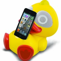 Electric Friends Kwack Kwack the Duck Speaker Docking Station for iPod and iPhone