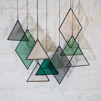 Stained Glass Elements (set of 9)