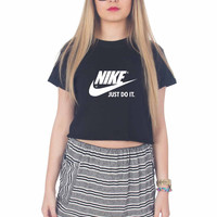 Nike Just Do It For Womens Crop Shirt **