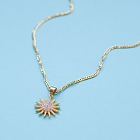 Sun Goddess Charm Necklace