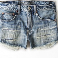 AEO Women's Hi-rise Festival Shortie (Medium Authentic)