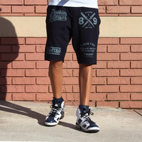 Doobious Ruffians French Terry Shorts Navy