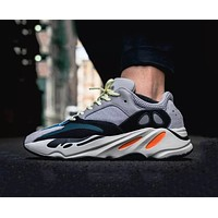 Bunchsun Adidas Yeezy 700 Boost vintage coconut running shoes old shoes