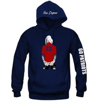 "Marilyn Monroe New England Patriots Hoodie ""3 Prints"" Sports Clothing"