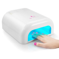 Professional Salon Nail UV Lamp for Acrylic Gel & Shellac with Sliding Tray & Timer
