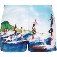 Orlebar Brown - Whippet printed woven boardshorts