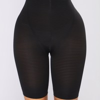 All The Right Places Shapewear Shorts - Black