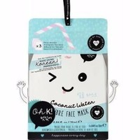Oh K! Coconut Water Fibre Face Mask for Dewy Radiance (3 pack)