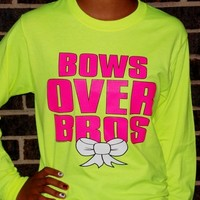 Bows Over Bros Long Sleeve Shirt from Evangelina's Closet