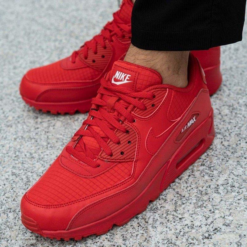 Image of Nike Air Max 90 Essential University Red Sneakers Shoes
