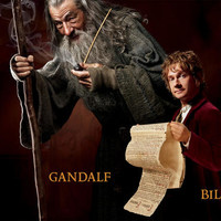 The Hobbit: An Unexpected Journey Character Panoramic Poster |