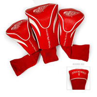 Detroit Red Wings NHL 3 Pack Contour Fit Headcover