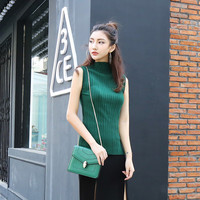 Knit Sweater Stretch Vest Ladies Bottoming Shirt [9460880204]