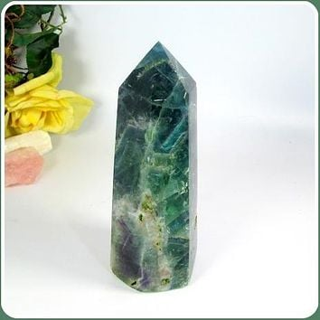 Protective Fluorite Tower