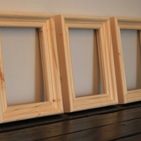 5x7 Unfinished Picture Frames-Listing is for 3