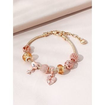 Heart Decor Bracelet