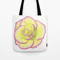 Rose - After the Rain Tote Bag by drawingsbylam