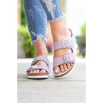 Arizona BS Soft Footbed Birkenstock | Lilac | Narrow
