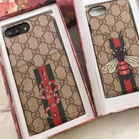 Gucci  phone case shell  for iphone 6/6s,iphone 6p/iphone 6sp,iphone 7,7p