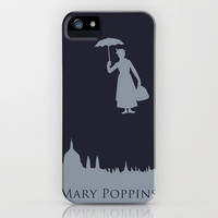 Mary Poppins iPhone Case by Citron Vert | Society6