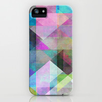 Color Blocking 3 iPhone & iPod Case by Mareike Böhmer Graphics
