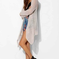 Blue Life Hooded Poncho Sweater - Neutral M