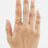 Totokaelo - Sophie Bille Brahe Gold/Diamonds Cassiopeia Ring - $2,863.00