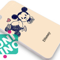 Minnie and mickey mouse vintage iPhone Case Cover   iPhone 4s   iPhone 5s   iPhone 5c   iPhone 6   iPhone 6 Plus   Samsung Galaxy S3   Samsung Galaxy S4   Samsung Galaxy S5