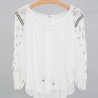 Free People Embellished Top