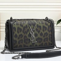 Women Fashion Leopard Crossbody Satchel