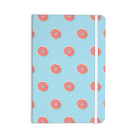 "Busy Bree ""Donut Dreams"" Coral Food Everything Notebook"