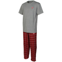 Detroit Red Wings Empire Pajama Set - Gray/Red - http://www.shareasale.com/m-pr.cfm?merchantID=7124&userID=1042934&productID=528452026 / Detroit Red Wings