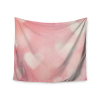 "Heidi Jennings ""Love is in the Air"" Pink Wall Tapestry"