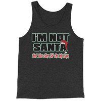 I'm Not Santa, But You Can Sit On My Lap Jersey Tank Top for Men