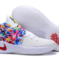 Nike Kyrie Irving 2 Rainbow Sport Shoes Us7 12