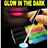 Glow In The Dark Lip Gloss 4-Piece Set AL#GG10911