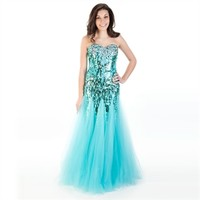 Sean Collection Juniors Couture Sequined Mermaid Gown at Von Maur