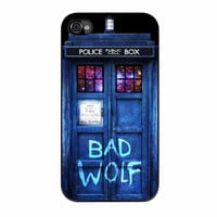 Tardis Dr Who Bad Wolf iPhone 4s Case
