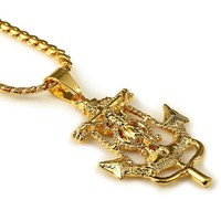 Stylish New Arrival Gift Jewelry Shiny Alloy Hip-hop Accessory Necklace [10529026755]
