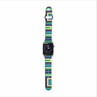 "Trebam ""Jesen"" Green Yellow Apple Watch Strap"