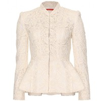 Polly Peplum Jacket | Alice + Olivia + mytheresa.com