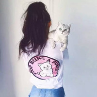 Short Sleeve Cats T-shirts | FREE SHIPPING  = 4849914052